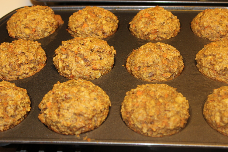 88.1 Bran Flax Muffins
