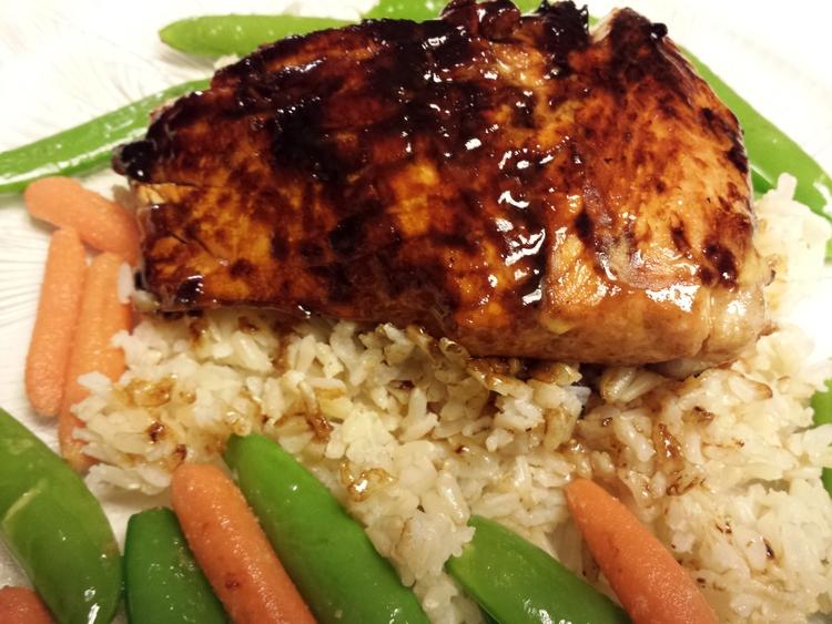 Delicious Glazed Salmon