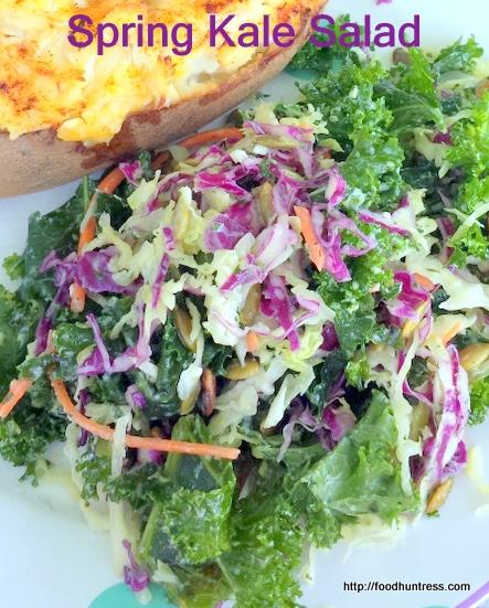 Spring Kale Slaw