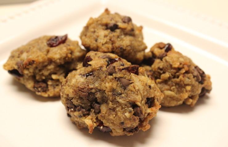 Chocolate Chip Oatmeal Quinoa Cookies