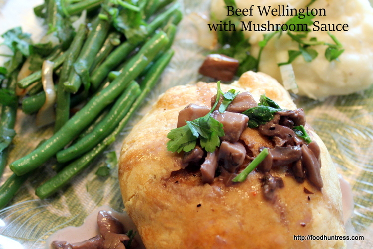 16.3 Delicious Beef Wellington with Mushroom Sauce