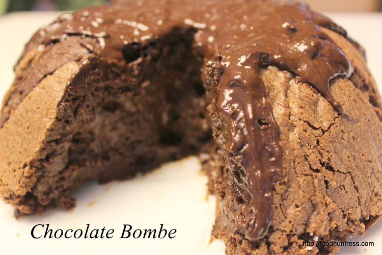 17.21 Chocolate Bombe and Raspberry Sauce