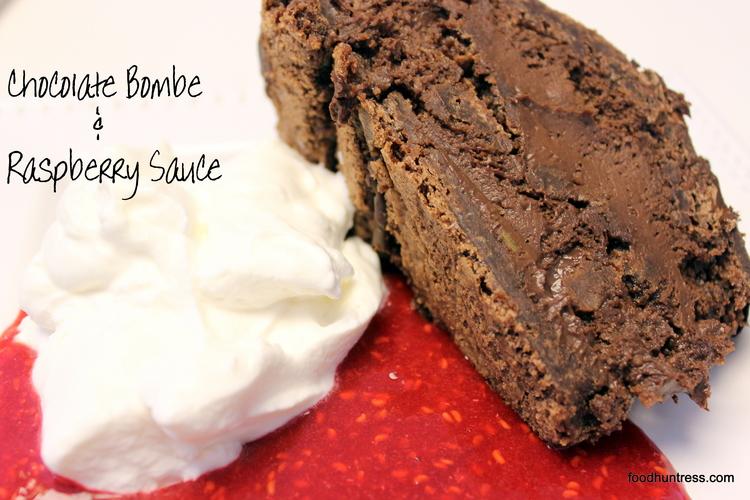 17.22 Chocolate Bombe and Raspberry Sauce