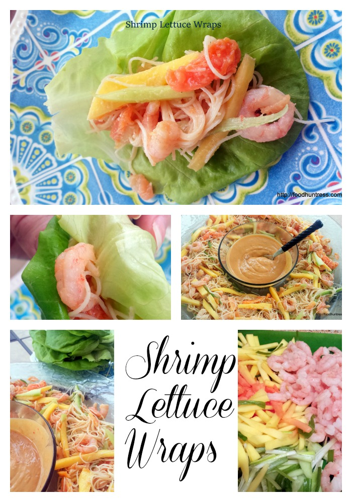 30 Papaya Mango Shrimp Lettuce Wraps