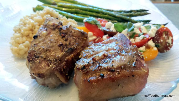 Grilled Mediterranean Lamb Chops