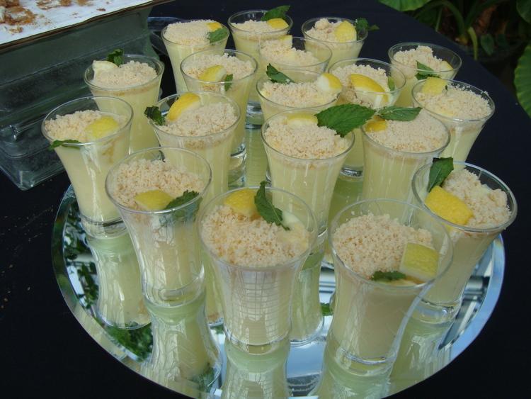 Lemon Mousse Cups