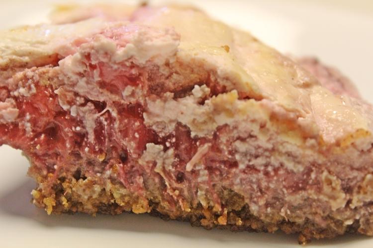 70.6 Rhubarb and Strawberry Cream Tart