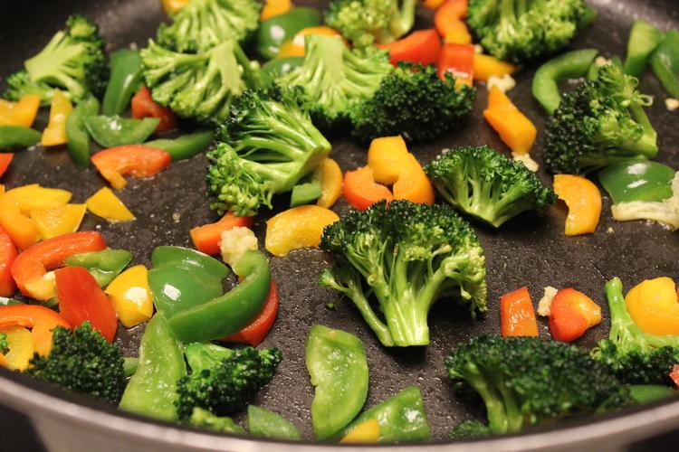75.11 Frijoles and Broccoli Quinoa