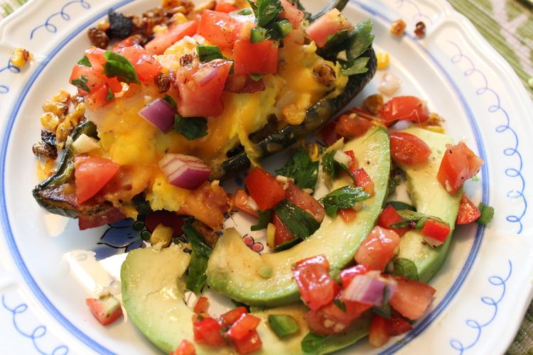 8.111 Portobello Egg and Kale Low Carb Breakfast