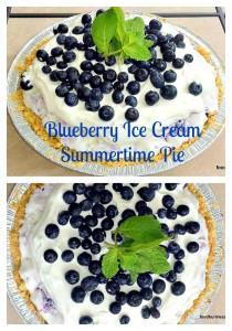 9-210x300 Strawberry Cheesecake Ice Cream Pie