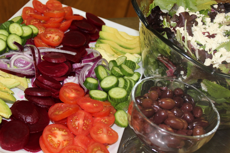 94 Make Your Own Greek Salad Bar at Home