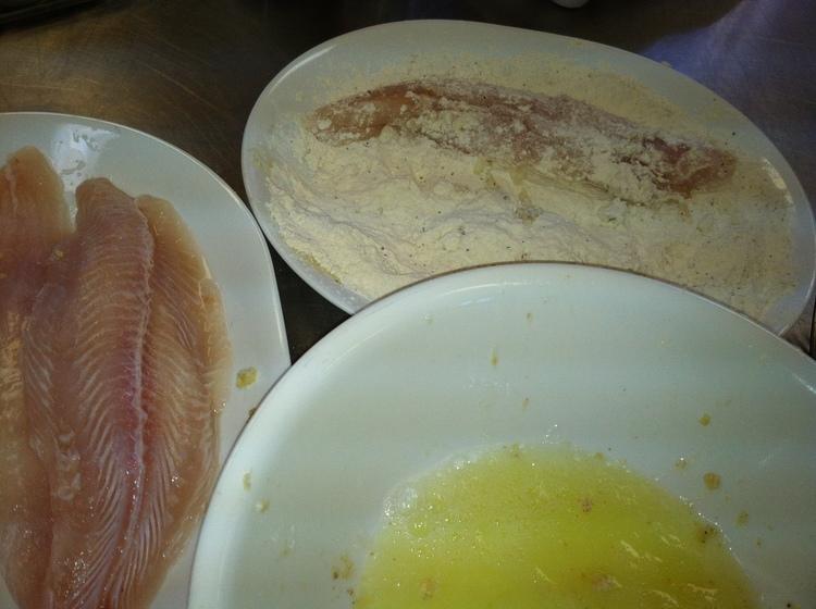 99.1 Almond Crusted Walleye