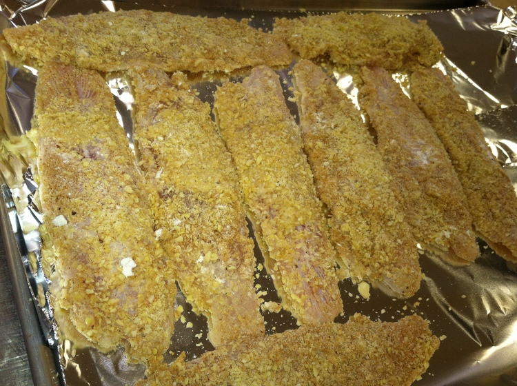 99.21 Almond Crusted Walleye