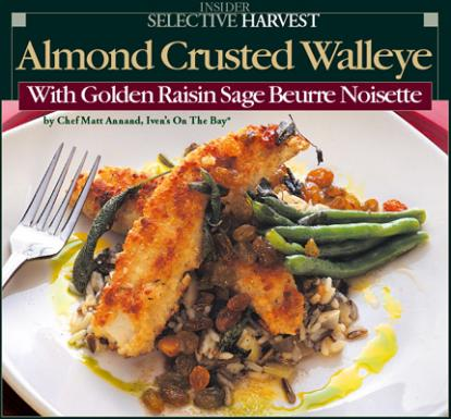 99 Almond Crusted Walleye