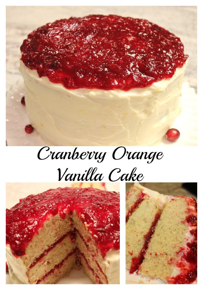 Cranberry-Orange-Vanilla-Cake Cranberry Orange Vanilla Cake