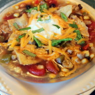 Victory Chicken and Bean Tortilla Soup