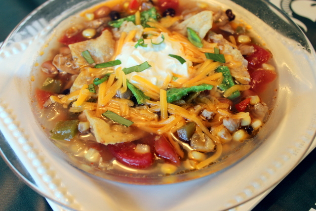 2015-10-027 Victory Chicken and Bean Tortilla Soup