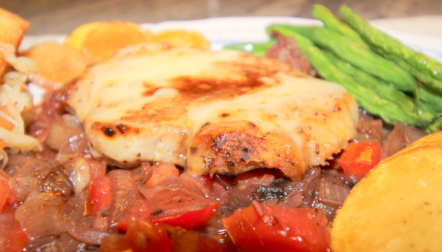 Pork Chops on French Onion Sauce