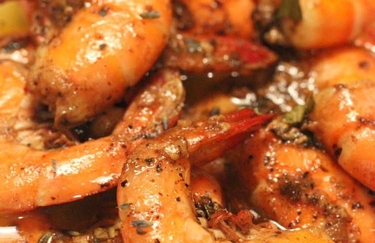 FAVORITE NEW ORLEANS CAJUN BARBECUE SHRIMP