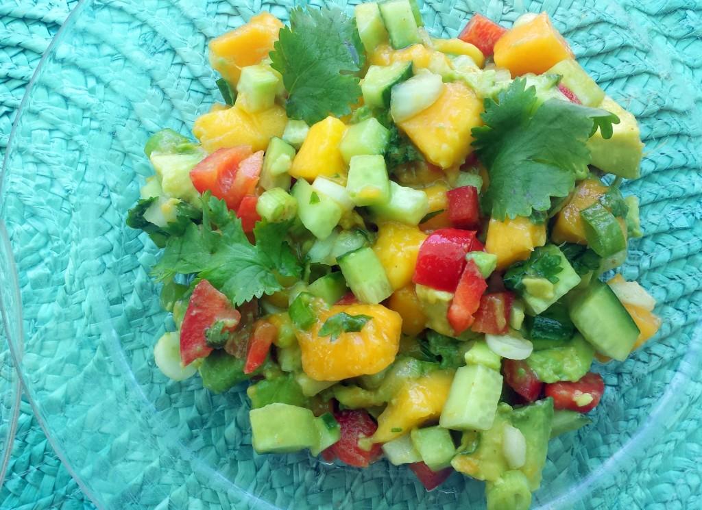 20150802_134826-1024x745 Best Mango Avocado Salad