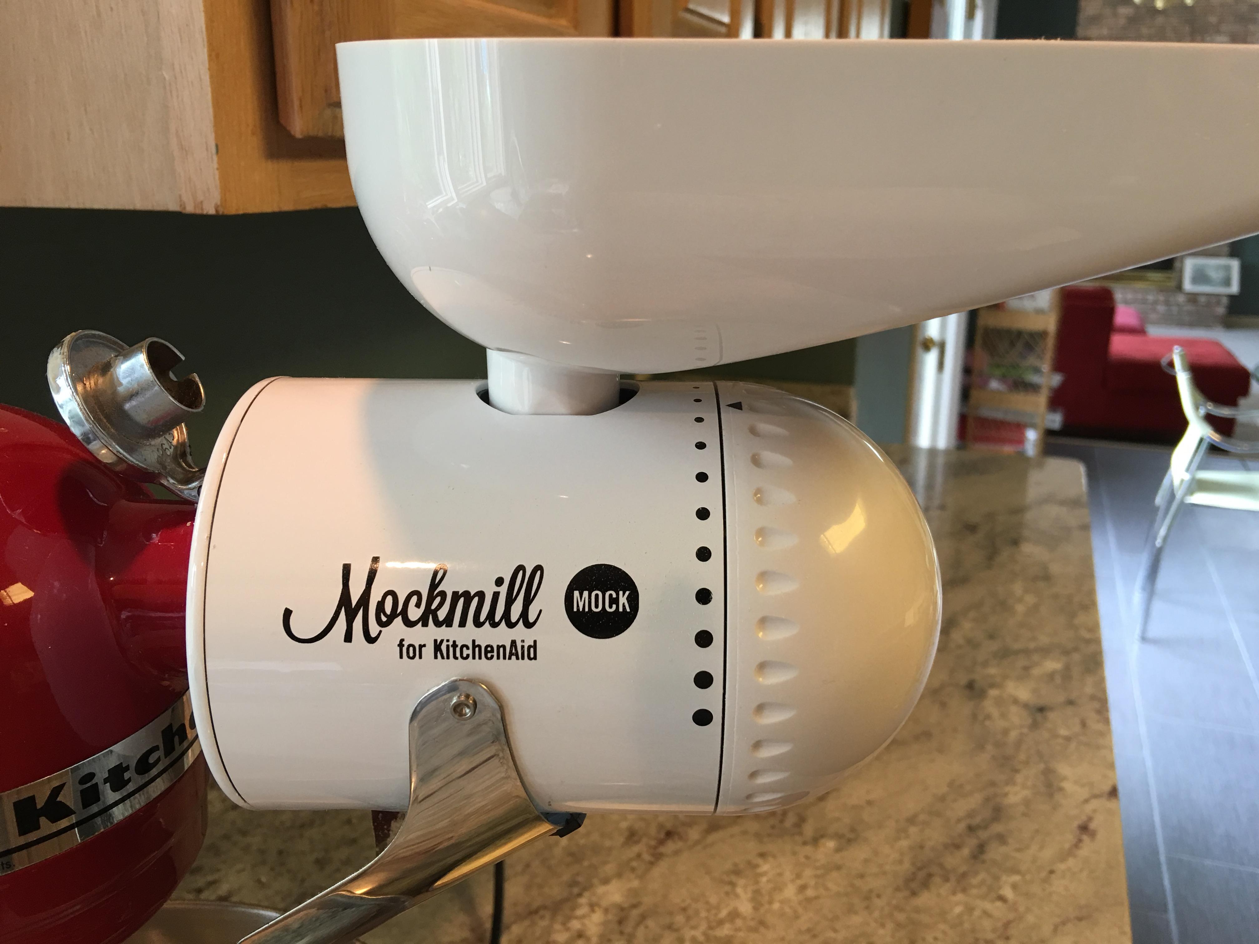Mockmill Grain Mill for Kitchen Aid