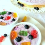Frozen Blueberry Yogurt Dessert