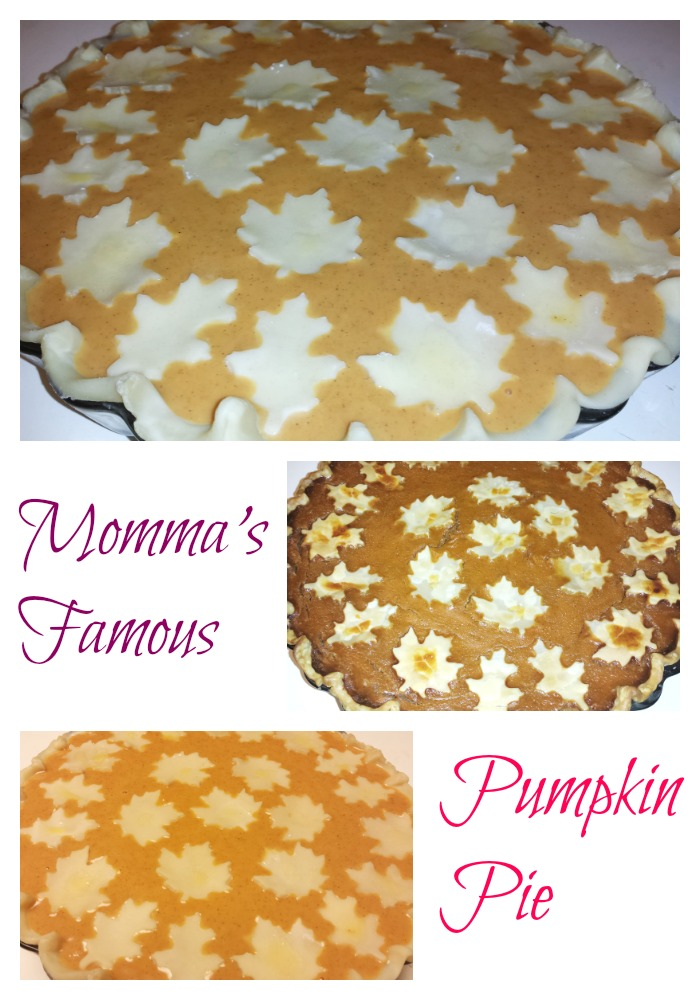 Mommas-Famous-Pumpkin-Pie Momma's Famous Pumpkin Pie