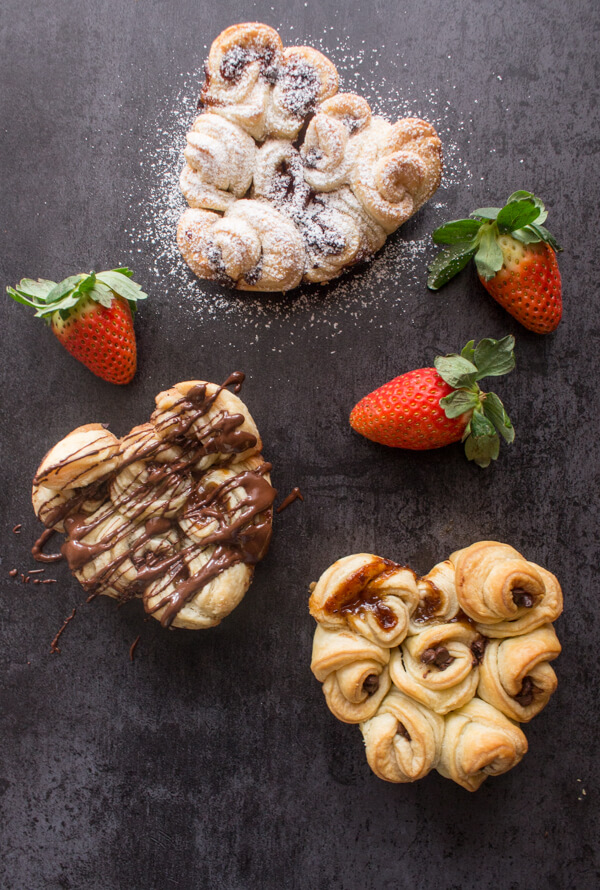 puff-pastry-rose12-1-of-1-Italian-in-my-kitchen Valentine Recipes from Food Huntress and Friends