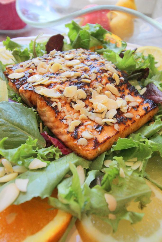 IMG_3685-683x1024 Asian Citrus Salmon Salad